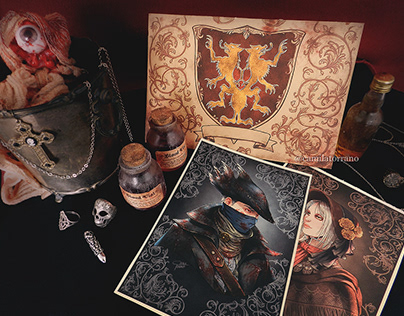 Bloodborne's Fanart: Cainhurst Summons & Bloodvials