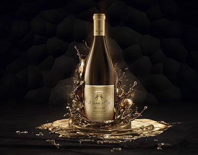 Ménage à Trois Gold —California Chardonnay