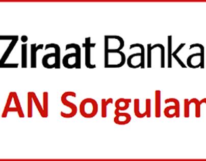 Ziraat IBAN Sorgulama   Ziraat Bankası IBAN Öğrenme