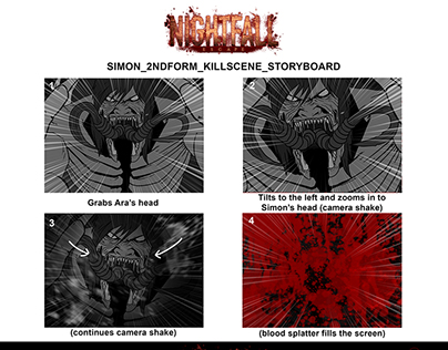 Nightfall: Escape Storyboards