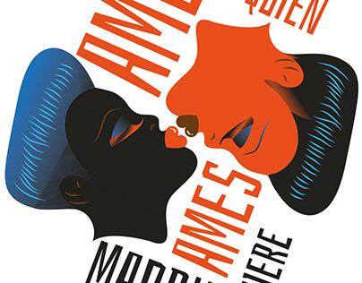Madrid Gay Pride 2018 posters. Madrid Town Hall.