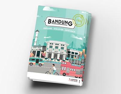iDiscover Bandung Illustrated Map