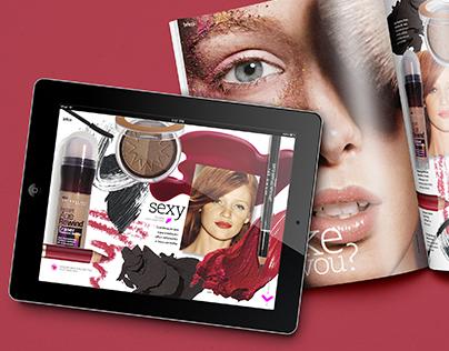 Makeup Editorial Design