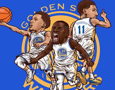 Golden State Warriors Big3