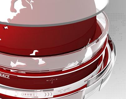News opening broadcast design