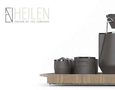 Heilen Pour Over Coffee Set