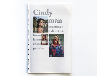 Cindy Sherman, ou le travestissement photographique