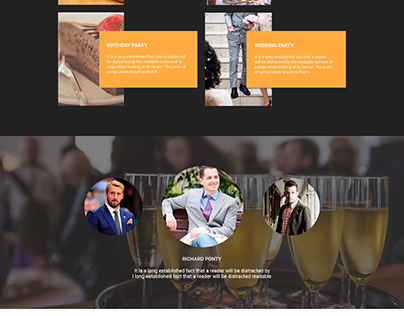 RestuRestaurant psd template