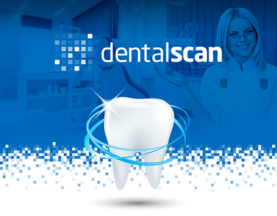 DentalScan - website design and brand identity