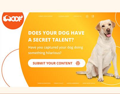 DOES YOUR DOG HAVE A SECRET TALENT? website