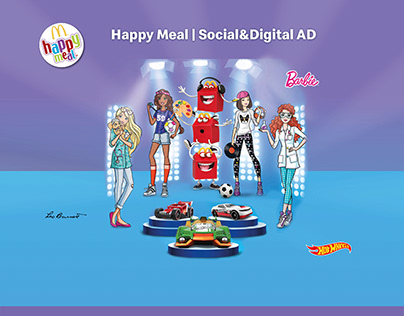 McDonald's | Happy Meal | Barbie&HotWheels | Ad
