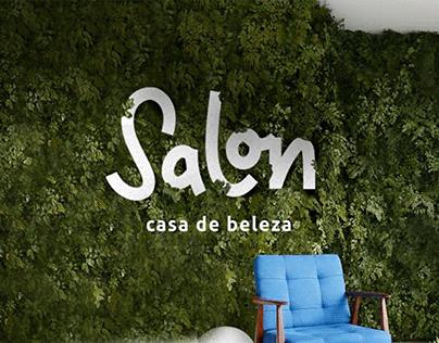 Salon casa de beleza - Branding