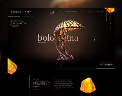 AMBER LAMP - Website