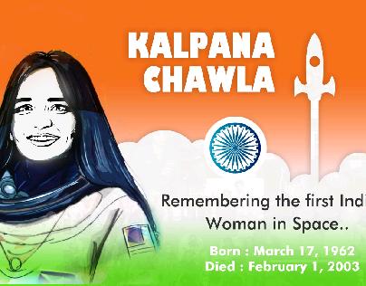 Remembering Kalpana Chawla...