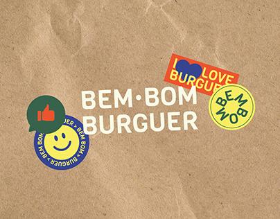 Bem Bom Burguer   Visual Identity