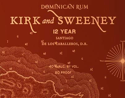 Kirk & Sweeney Packaging Illustrated by Steven Noble