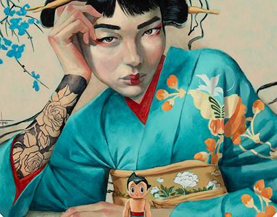Serie Geishas