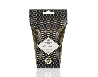 Megaris Oregano Packaging