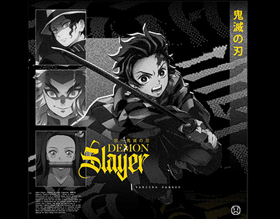 Demon Slayer Tees