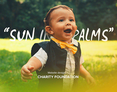 Sun in palms - Charity foundation