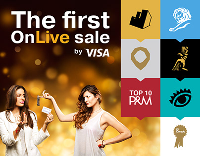 """THE FIRST """"ONLIVE"""" SALE - VISA"""