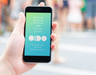 OIDO Brand Identity and UI