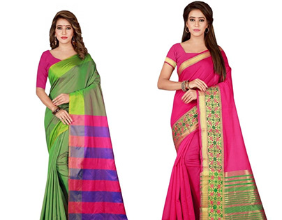 Brand new cotton sarees collection