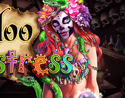 Voodoo Mistress redesign for SciPlay