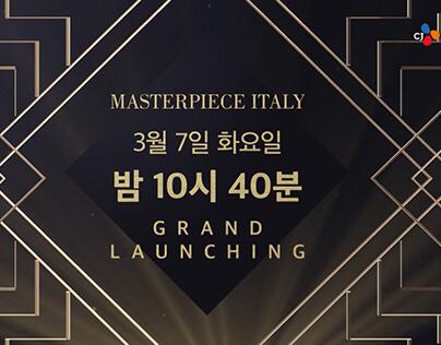 Masterpiece Italy / Promotion