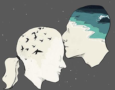Oceans of the Mind Illustration