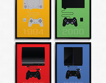 PlayStation Inspired Prints