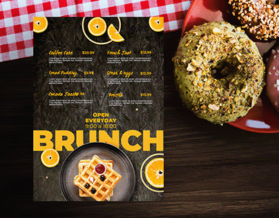 Creative Food Flyer Design