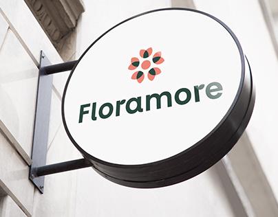 """Floramore"" logotipas"