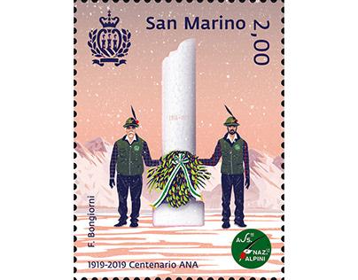 San Marino & Vatican Stamps