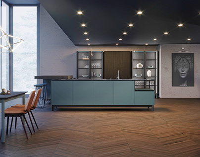 X1 kitchen by INSTYLE
