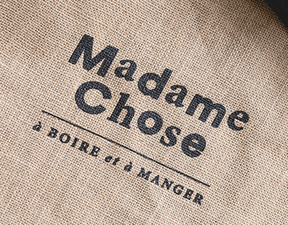 Madame Chose / Branding