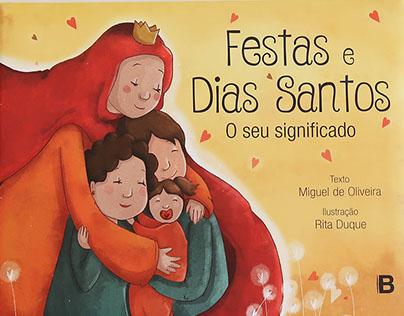 Children's book | Festas e Dias Santos