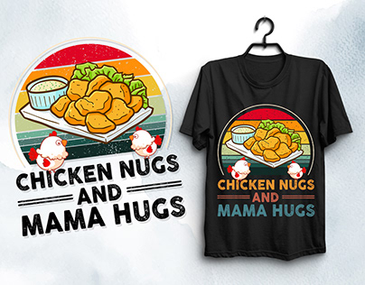Nugget Lover T-Shirt Design