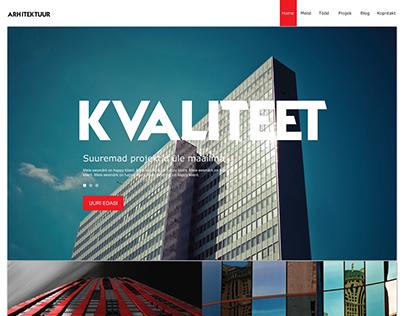 Construction Service Web Design