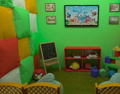Indoor playground for restaurants (2nd version)
