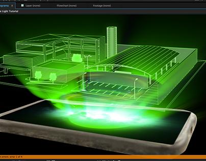 HOLOGRAMA - 3D/VFX -