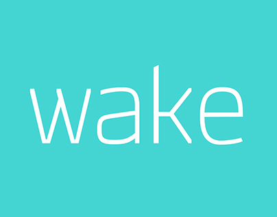 Wake Typefamily