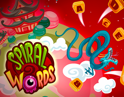 Spiral Words Game