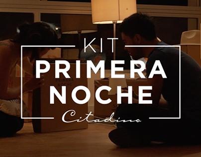 Kit Primera Noche - Citadino