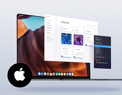 Apple OS / Mac OS 2020 redesign - Edge to edge Macbook