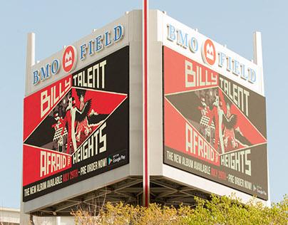 "Billy Talent ""Afraid Of Heights"" Billboards Toronto"