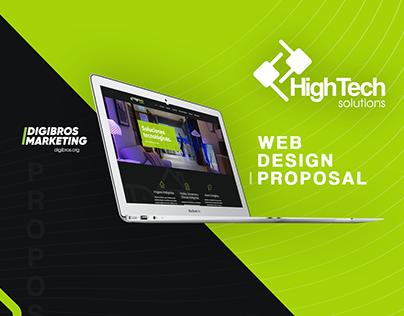 HTS Panamá | Web Design Proposal