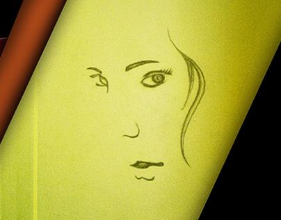 Pencil Sketch and Edits