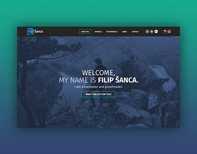 Webdesign | Filip Šanca