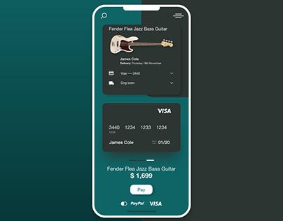 UI design of mobile app